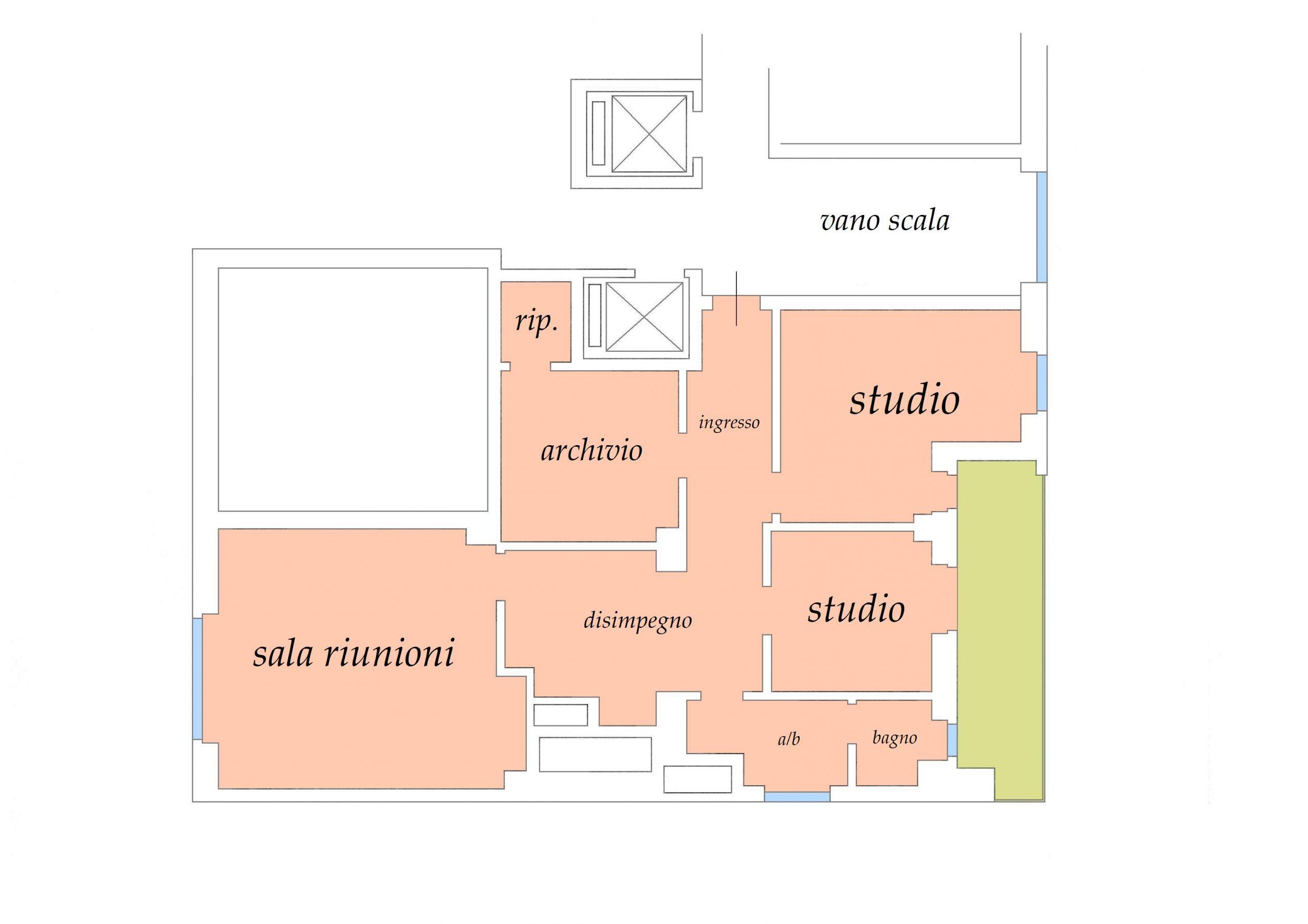 CROCETTA – Studio / Ufficio mq. 90
