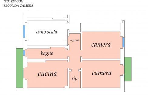 PLANIMETRIA CON IPOTESI SECONDA CAMERA - Copia